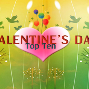 Top Ten Ways to Spend Valentine's Day